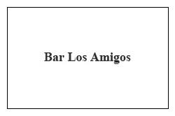 Bar Los Amigos Las Rozas
